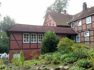 Eins unserer Wochenendhäuser,- hier eines in Hanstedt